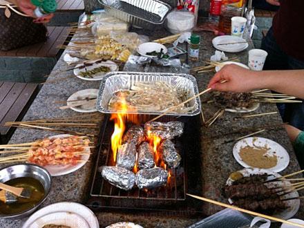 顾村公园烧烤