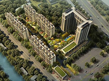 中国铁建青秀城设计效果图